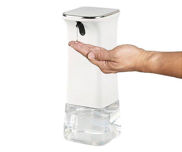 Dispenser Automático de Álcool em Gel Com sensor infravermelho Reservatório 350 Ml