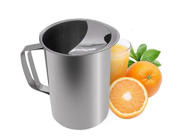 Jarra de Suco Água Chá com Separador Aço Inox 1,8 L Ke Home