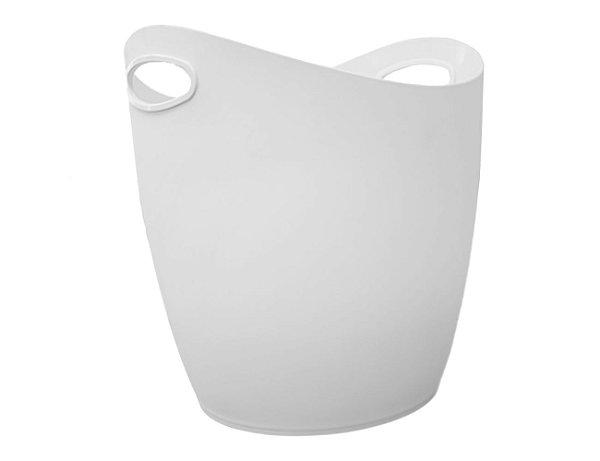 Cesto Organizador Plástico Reforçado de 25L Lavanderia Cama