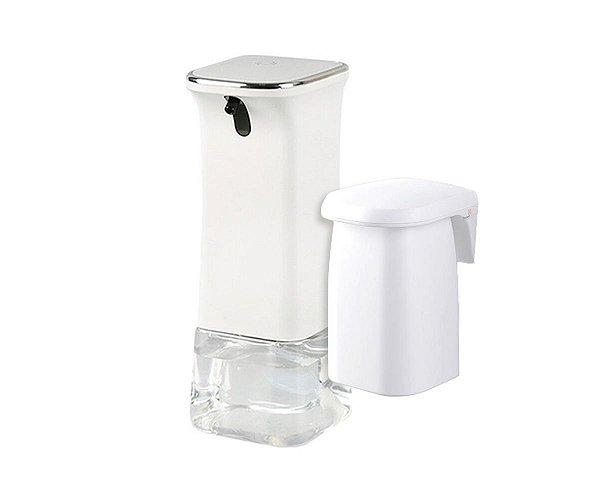 Kit Dispenser Automático Sabão  Líquido + Copo Enxaguante Bucal
