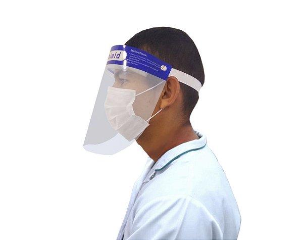 Kit 30 Mascara De Proteção Facial Anti Respingo