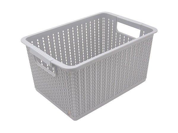 Kit 3 Cestos Organizador De Plástico 7l