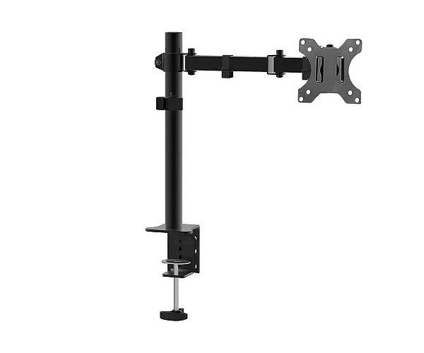 """Kit 10 Suporte de mesa TV/monitor até 27"""" articulado em aço"""