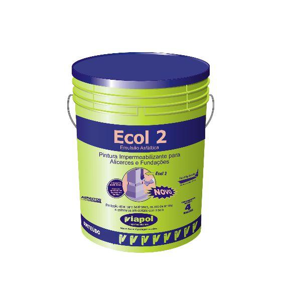 Emulsão Asfáltica Ecol 2 18L Viapol