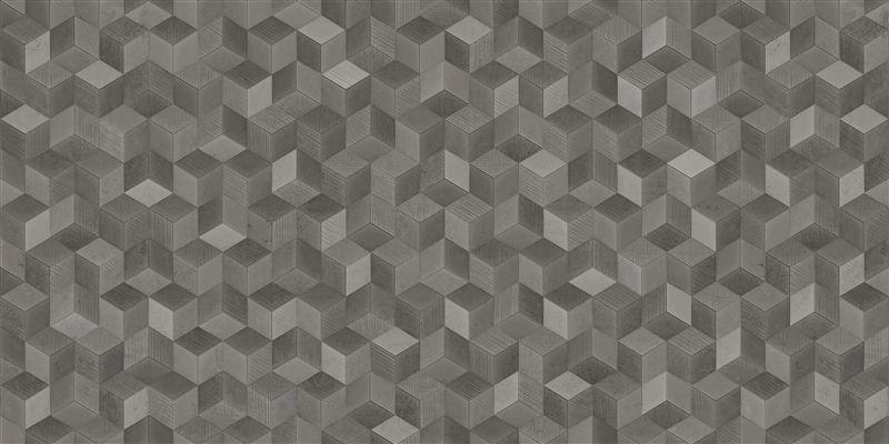 Porcelanato Cube Silver 62x62 cm