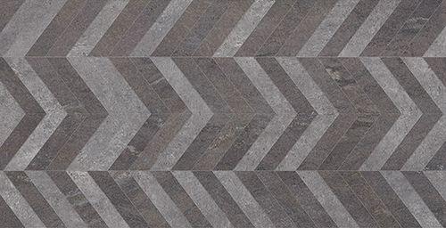 Porcelanato Chevron Nero Glossy 60534 62x120 cm