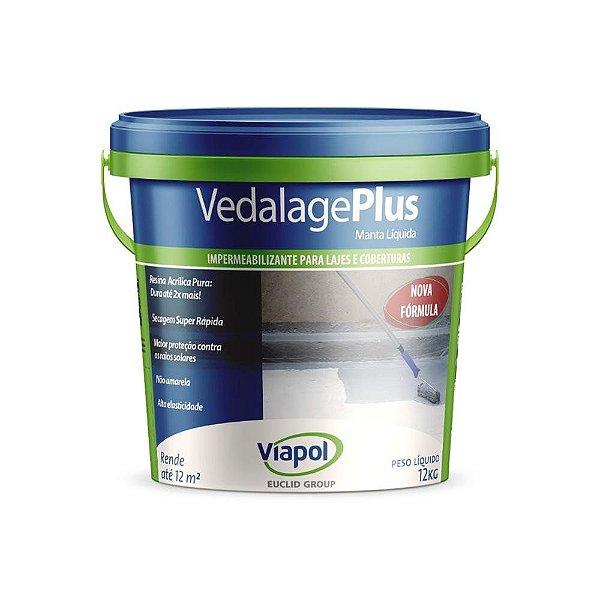 Impermeabilizante Vedalage Manta Liquida Concreto 12kg