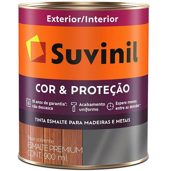 Tinta Esmalte Sintético Cor e Proteção Fosco para Madeira e Metal 900ml  SUVINIL