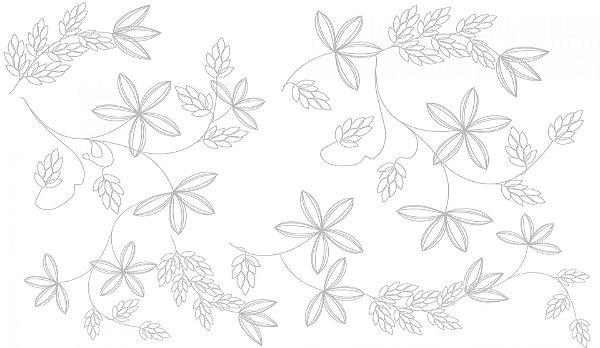 Revestimento Flower Blanco - 52/1144 - 33x57cm - Embramaco