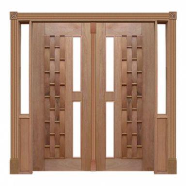 Portal Pivotante - 120 - Couro Longo para Vidro