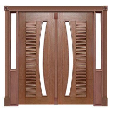 Portal Pivotante - 175 - Madri para Vidro em Arco