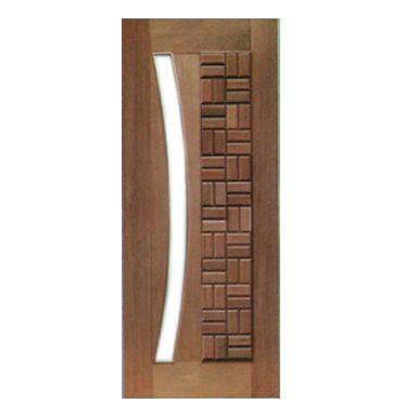 Porta Pivotante Clássica para Vidro em Arco
