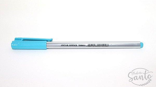 Caneta Triball Esferográfica - Azul Claro