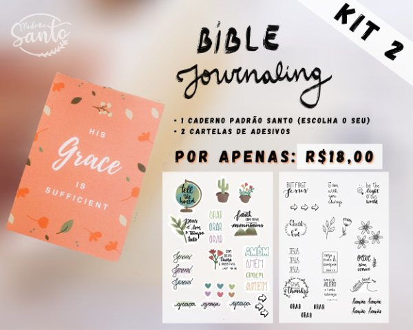 Kit 2 - Bible Journaling