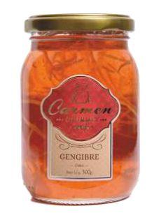 GELÉIA DE GENGIBRE 300G - DOCES CARMEN