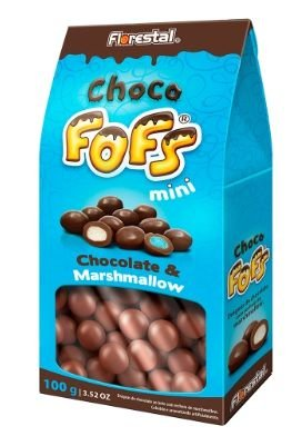 MARSH DRAGEADO CHOCO FOFS MINI 100G  - UNIDADE
