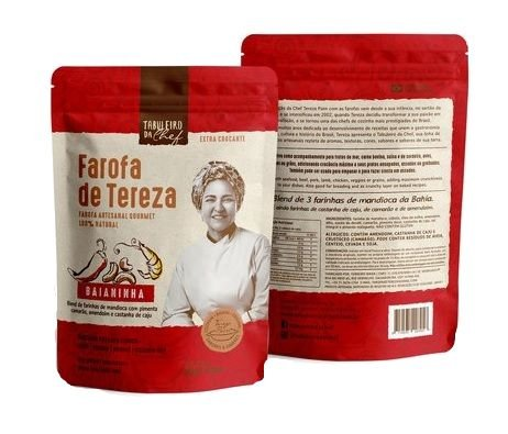FAROFA DE TEREZA BAIANINHA 300 GR