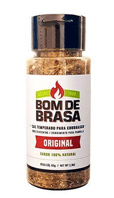 TEMPERO  TRADICIONAL BOM DE BRASA 65G