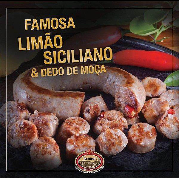 LINGUIÇA FAMOSA LIMAO SICILIANO 400G