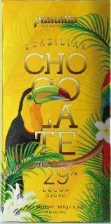 BARRA 29% CACAU CHOCOLATE BRANCO PLANALTO 100G - UNIDADE