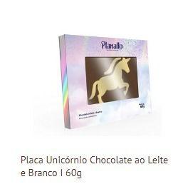 PLACA UNICÓRNIO 1 60G - UNIDADE