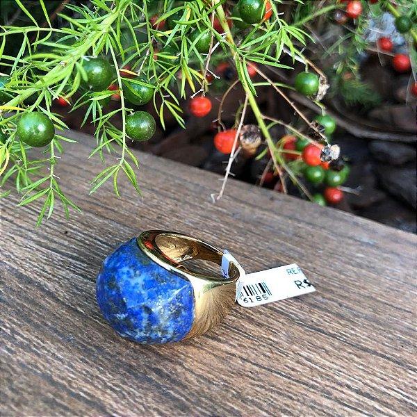 Anel Lápis Lazuli