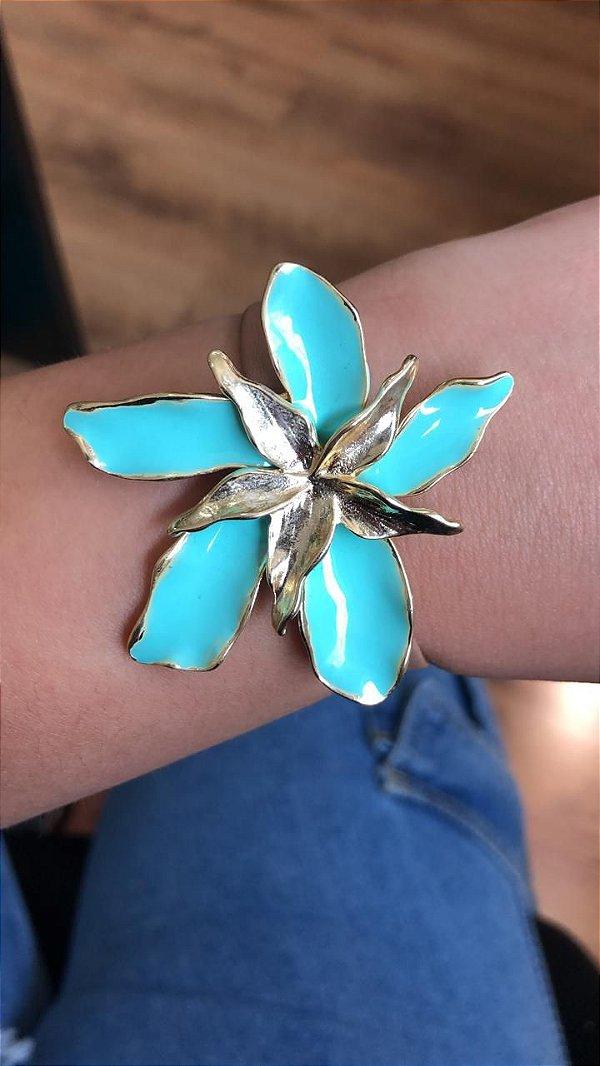 Pulseira Flor Tiffany