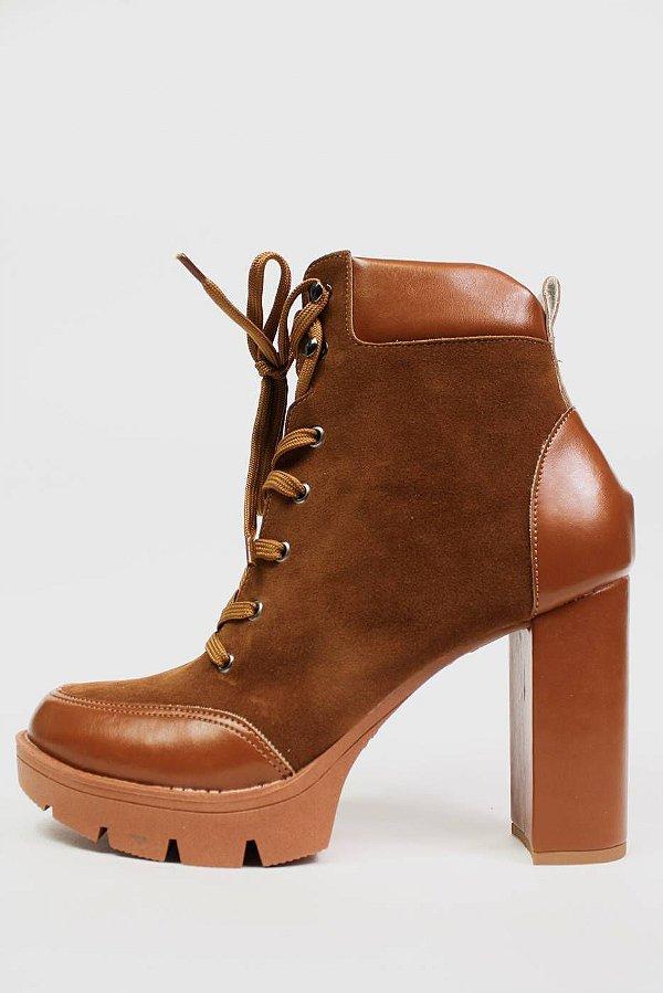 Bota Amber Caramelo