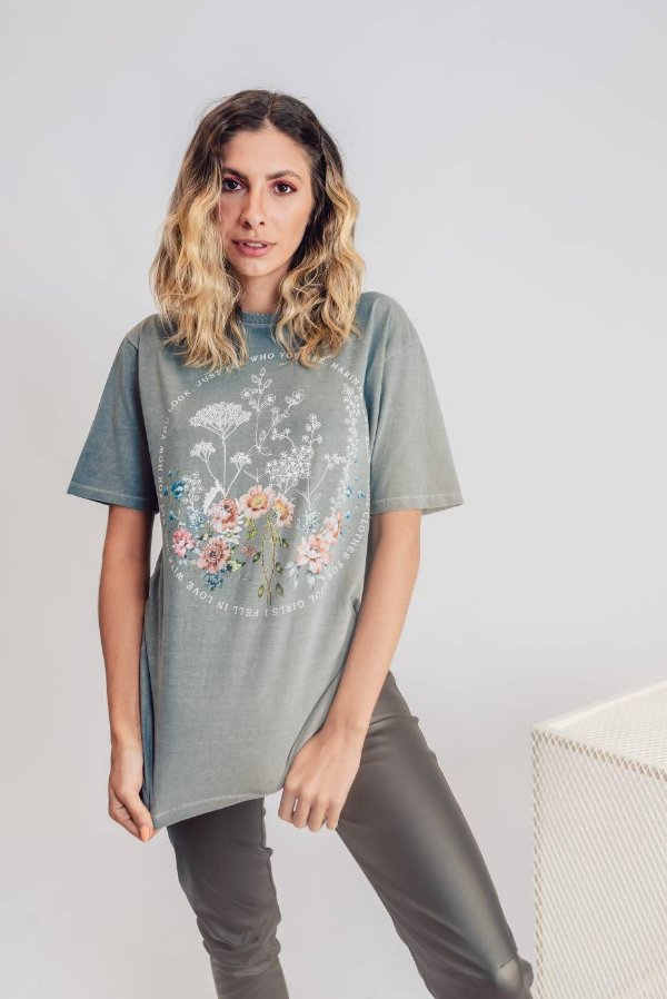 T-shirt Love Flower