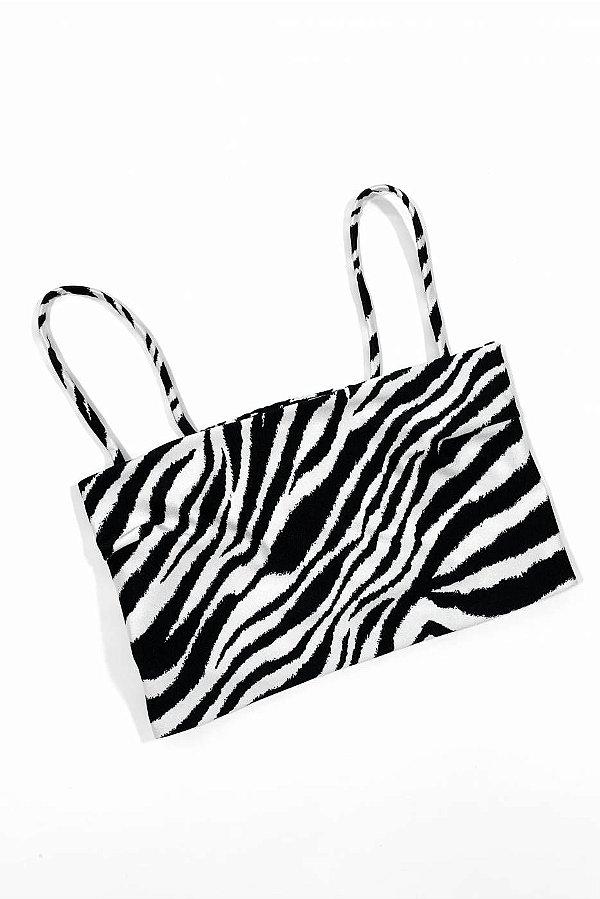 Top Reto Zebra Fina