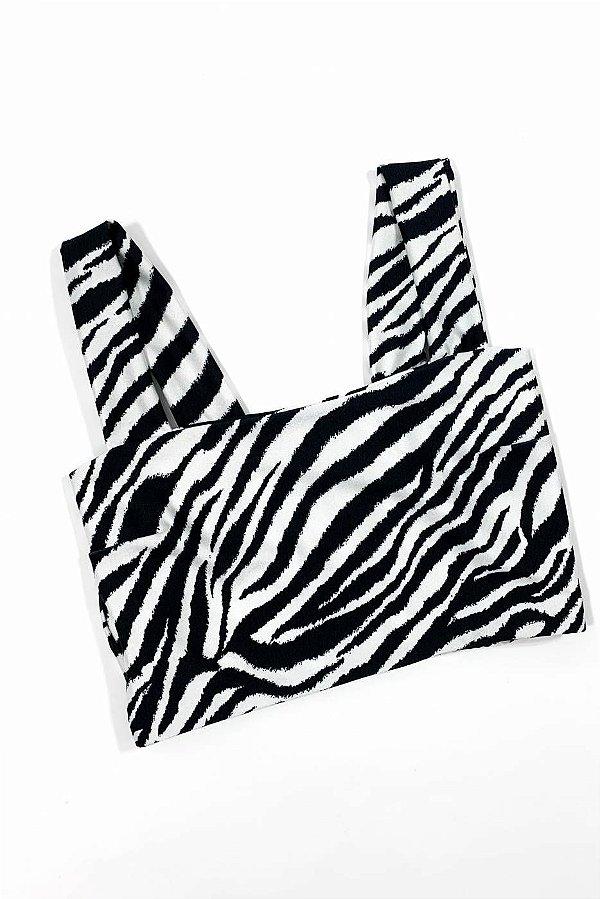 Top Reto Zebra Larga