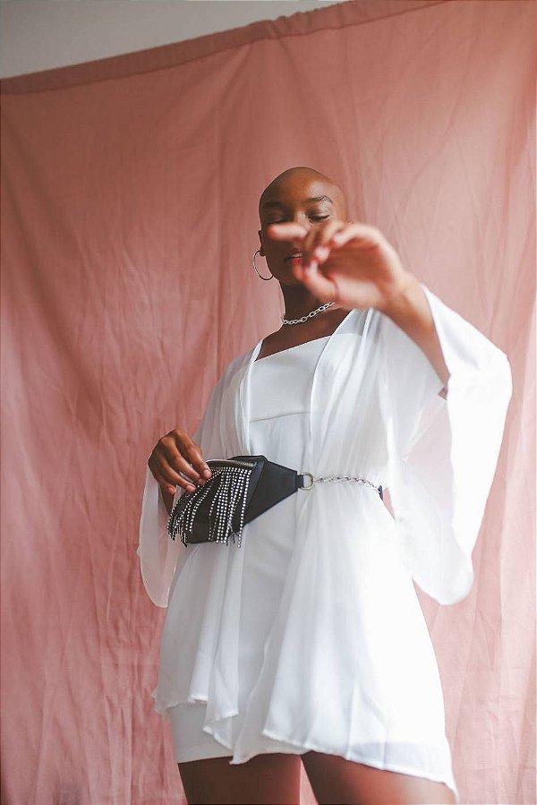 Vestido Tube Kimono
