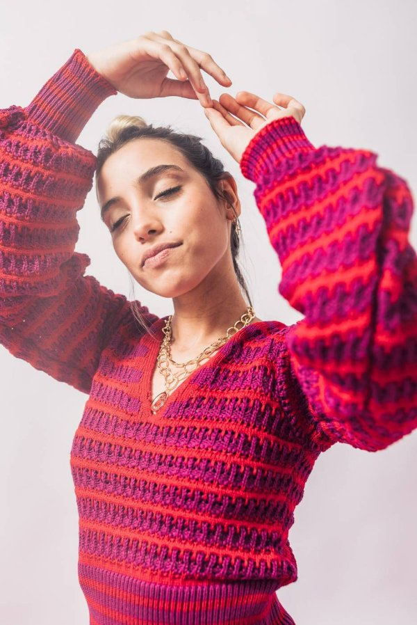 Cropped Listra Tricot