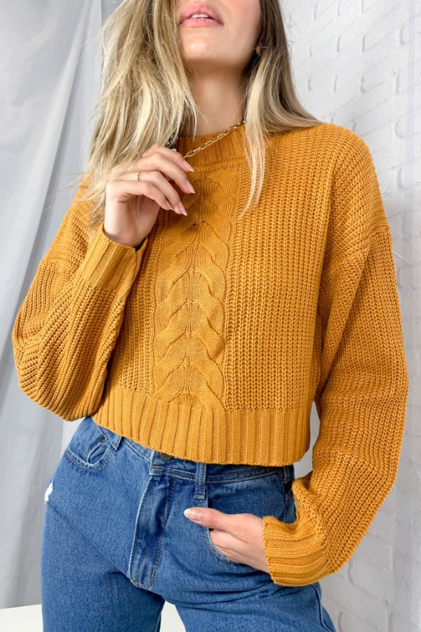 Cropped Tricot Califa