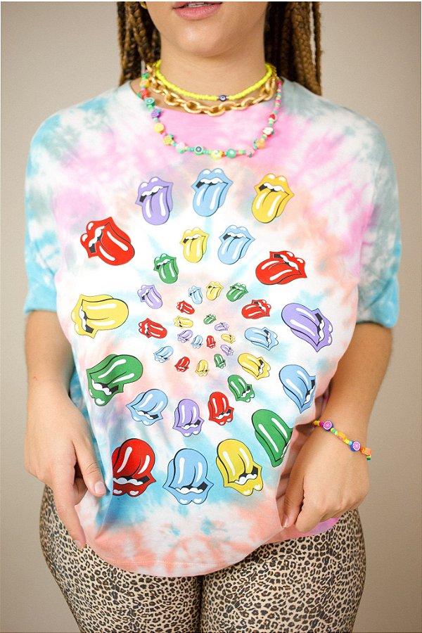 T-shirt Tye Lips