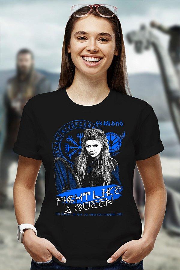 Fight Like a Queen (T-Shirt Unissex)