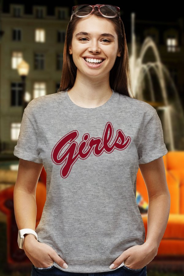 Girls (T-Shirt Unissex)