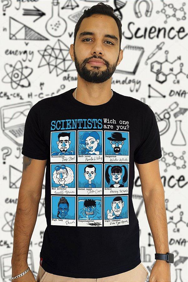 Scientists (T-Shirt Unissex)