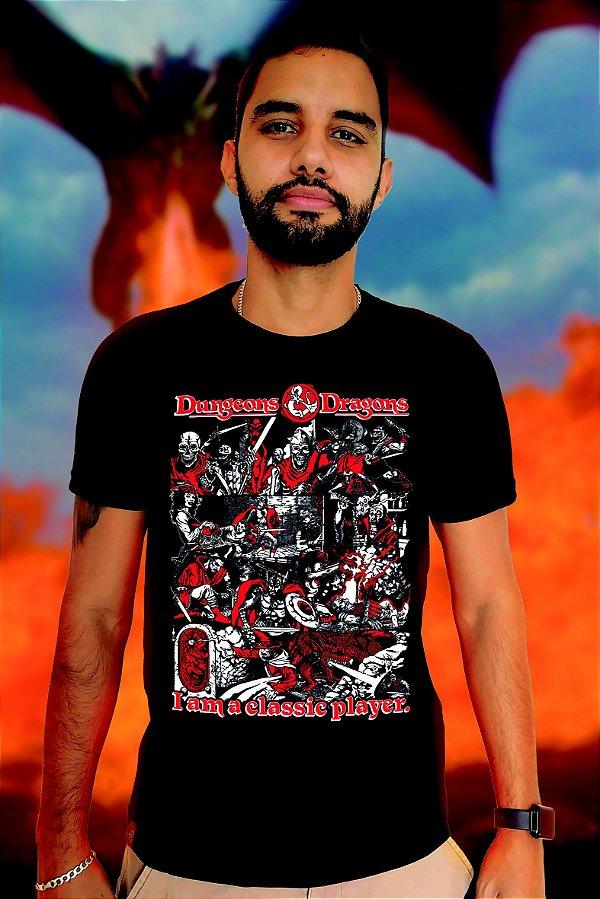 RPG  Classic Player (T-shirt Unissex)