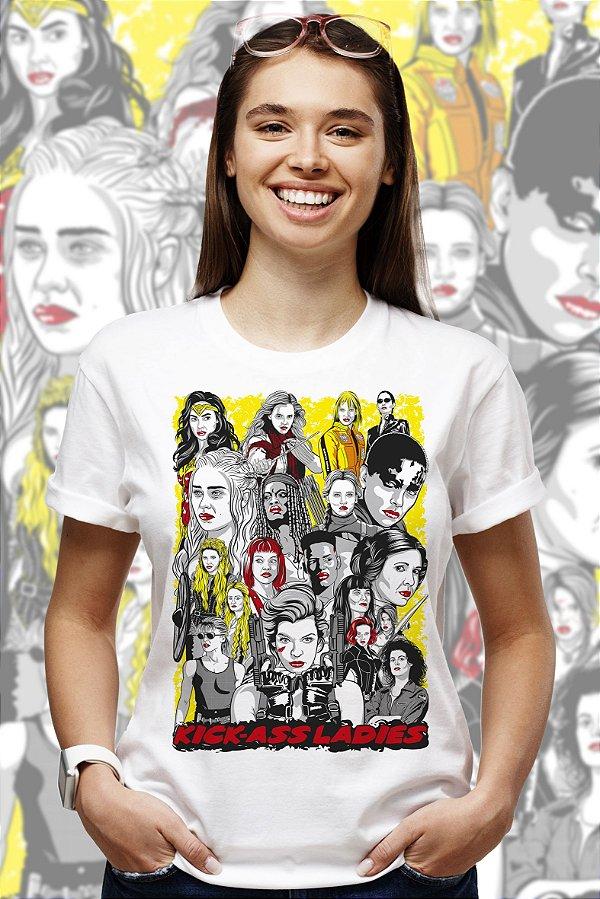 Kick-Ass Ladies (T-shirt Unissex)