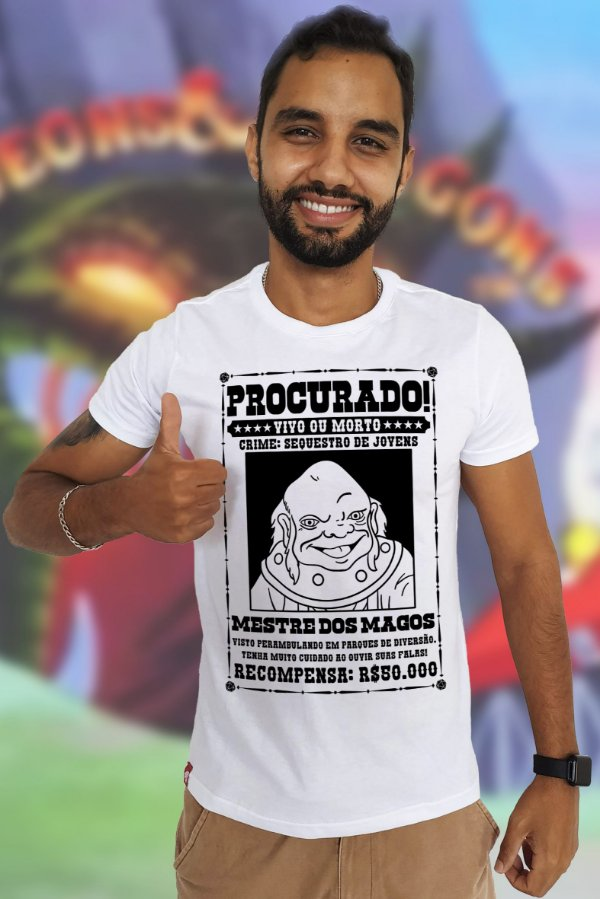 Procura-se Maguinho (T-Shirt Unissex)