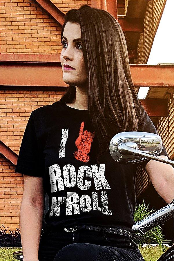 I Love Rock (T-Shirt Unissex)