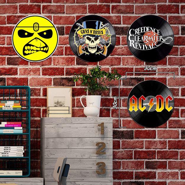 Placas decorativas de Rock