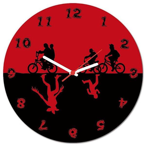 Relógio de Parede Upside Down
