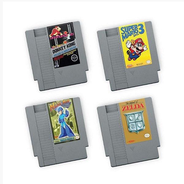 Porta Copos de acrílico Fitas NES