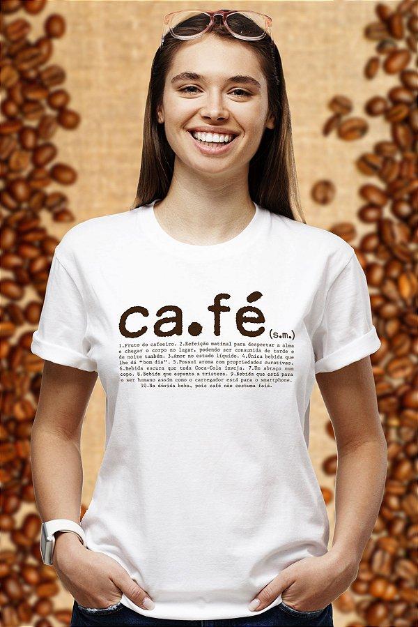 Café Wiki (T-shirt Unissex)