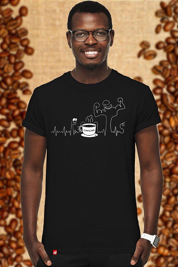 Café Power (T-shirt Unissex)