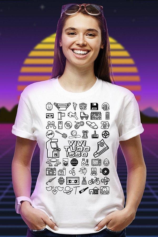 Vivi Tudo Isso - Edição Básica (T-shirt Unissex)