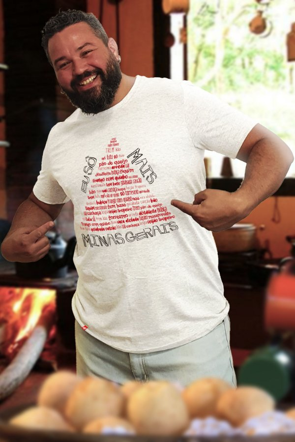 Eu Sô Mais Minas Gerais (T-shirt Unissex)