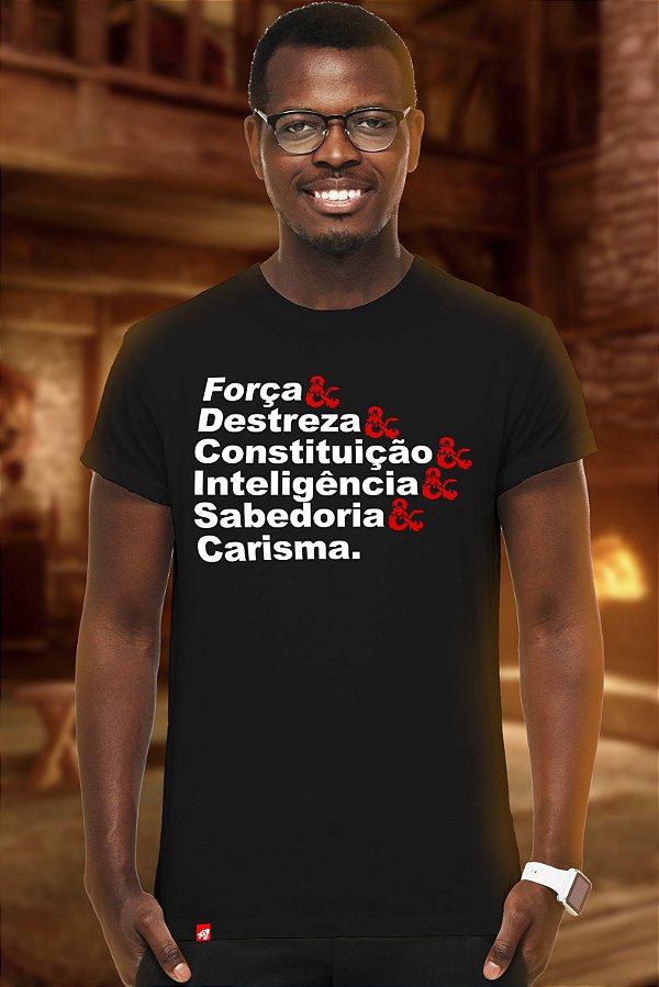 Atributos (T-shirt Unissex)